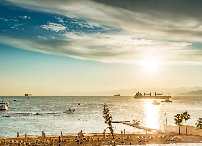 strand i Aqaba