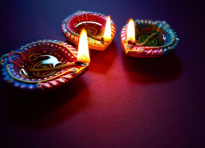 Ljuslyktor Diwali