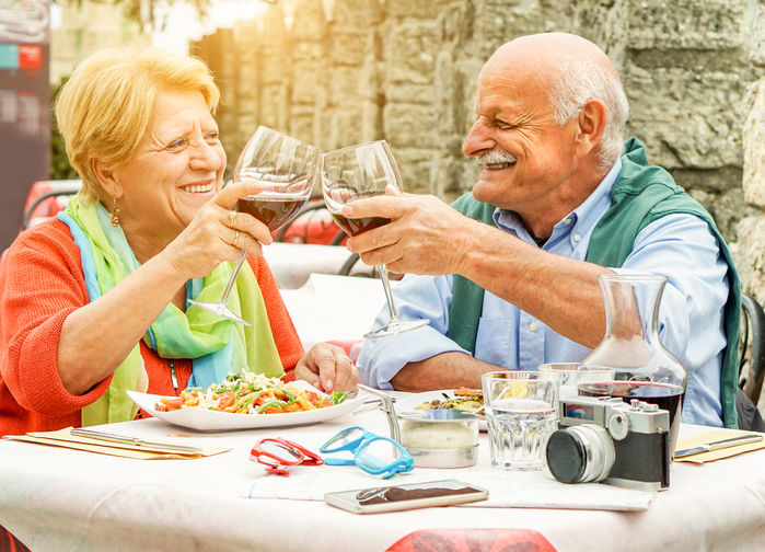 Vinlunch seniorer