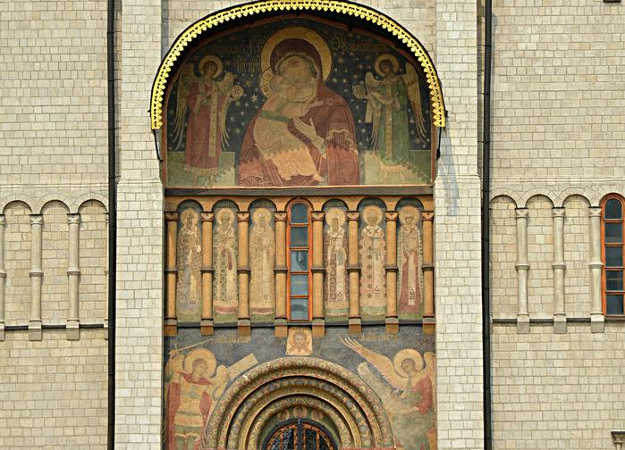 Uspenskijkatedralen, Kreml Moskva